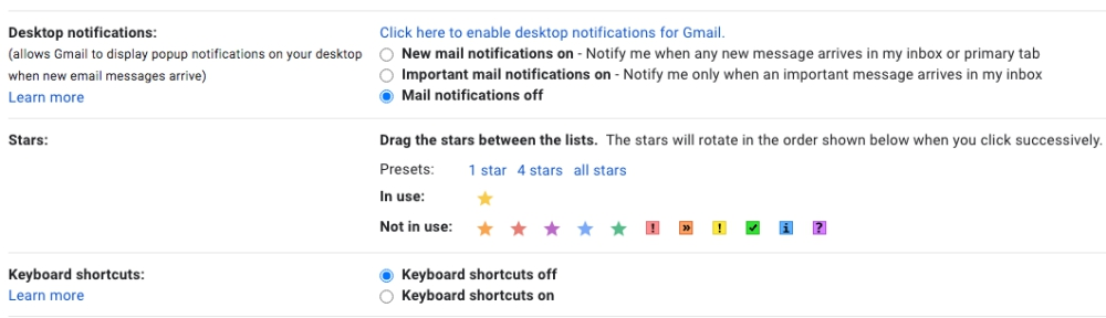 5 gmail hacks to have full control of your mailbox stars function - 全权掌控你的邮件箱!5个超实用Gmail小妙招