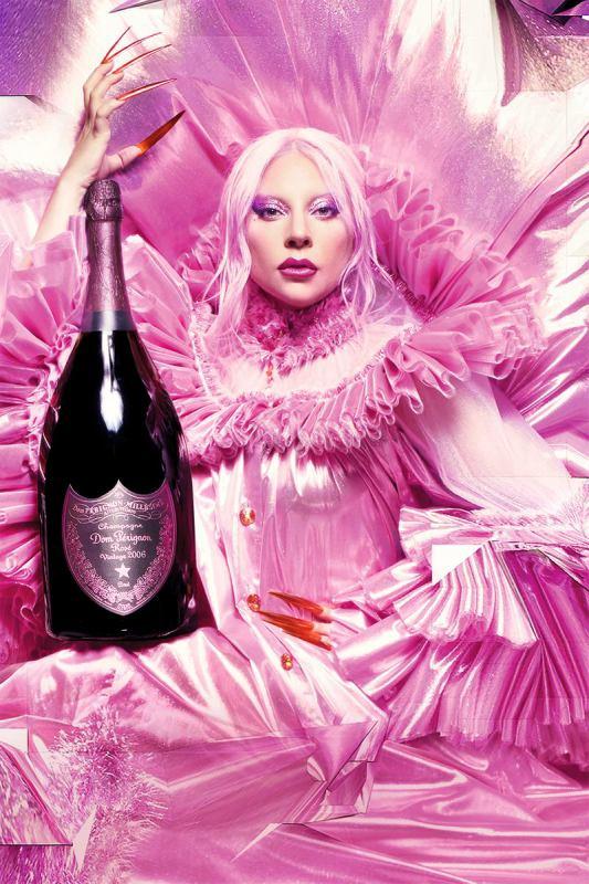 dom perignon x lady gaga 001 - 香槟大师与巨星合作 Dom Pérignon x Lady Gaga 超强气场!