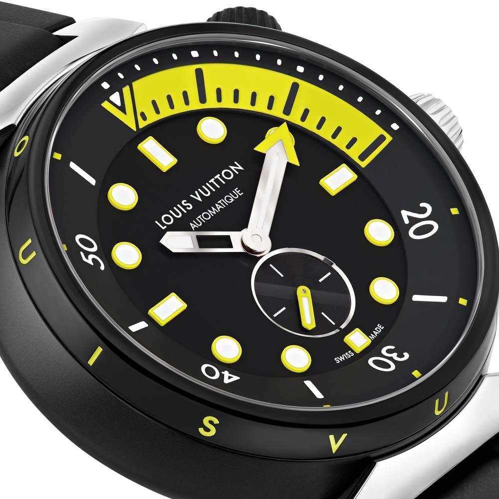 lv tambour street diver 005 - LV Tambour Street Diver 潜水表 走出自己的都市运动风
