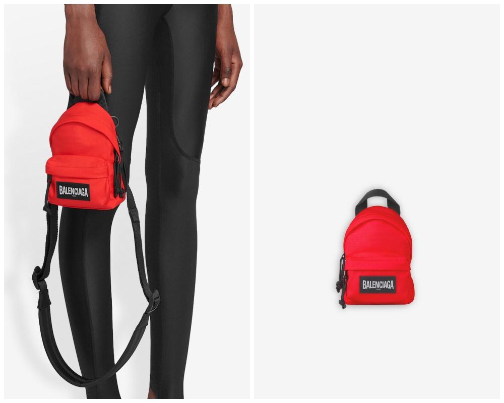 summer 2021 mens bag bright colours balenciaga oversized mini backpack - 别再低调!亮色系包袋才能完美展现你的个性