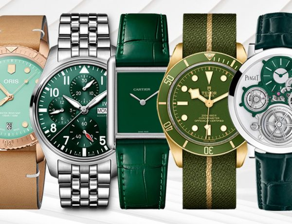 watches wonders 2021 green is the new watch trend 600x460 - Watches & Wonders 2021|年度表坛流行色