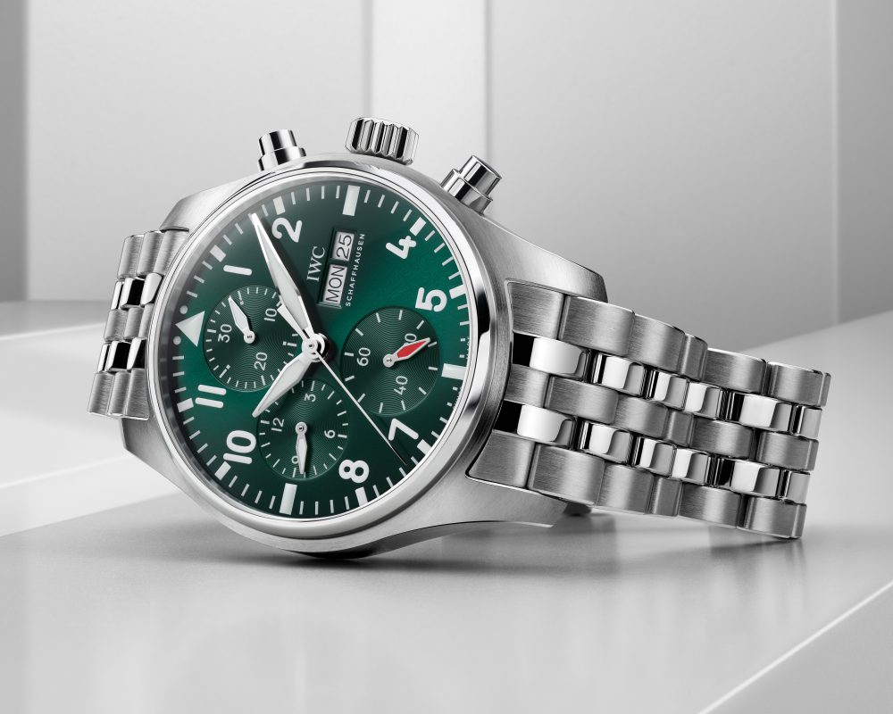 watches wonders 2021 green is the new watch trend iwc pilot chronograph 41 - Watches & Wonders 2021|年度表坛流行色