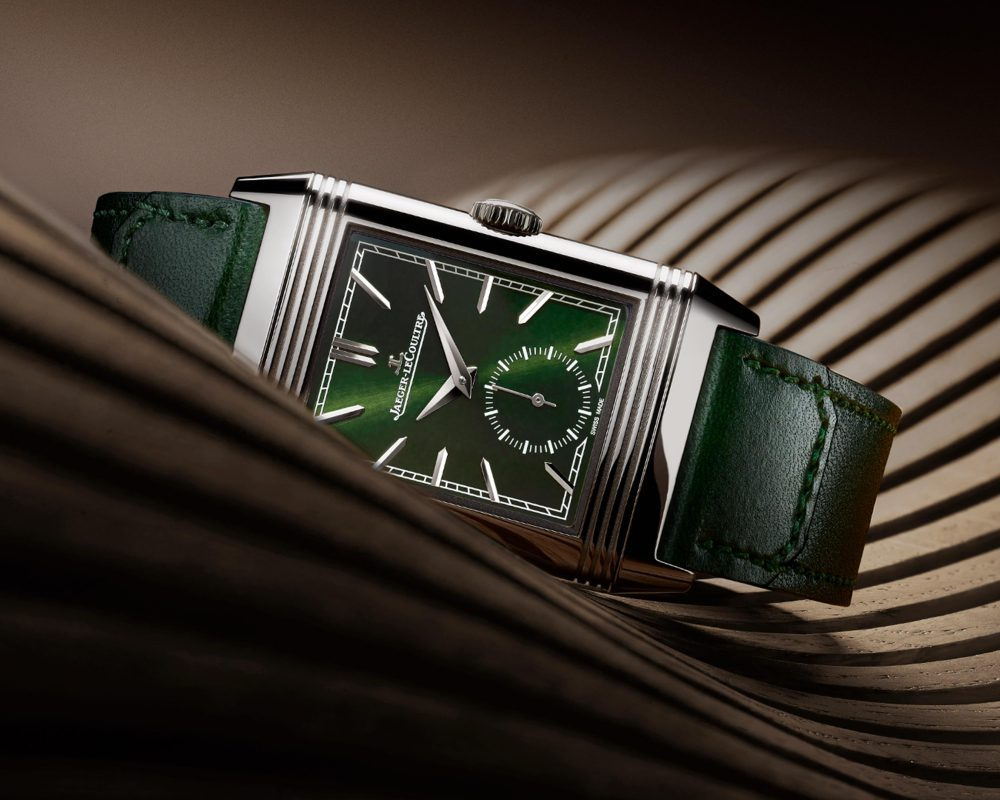 watches wonders 2021 green is the new watch trend jlc reverso green - Watches & Wonders 2021|年度表坛流行色
