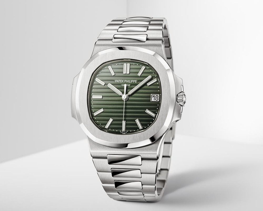 watches wonders 2021 green is the new watch trend nautilus ref 57111a 13 - Watches & Wonders 2021|年度表坛流行色