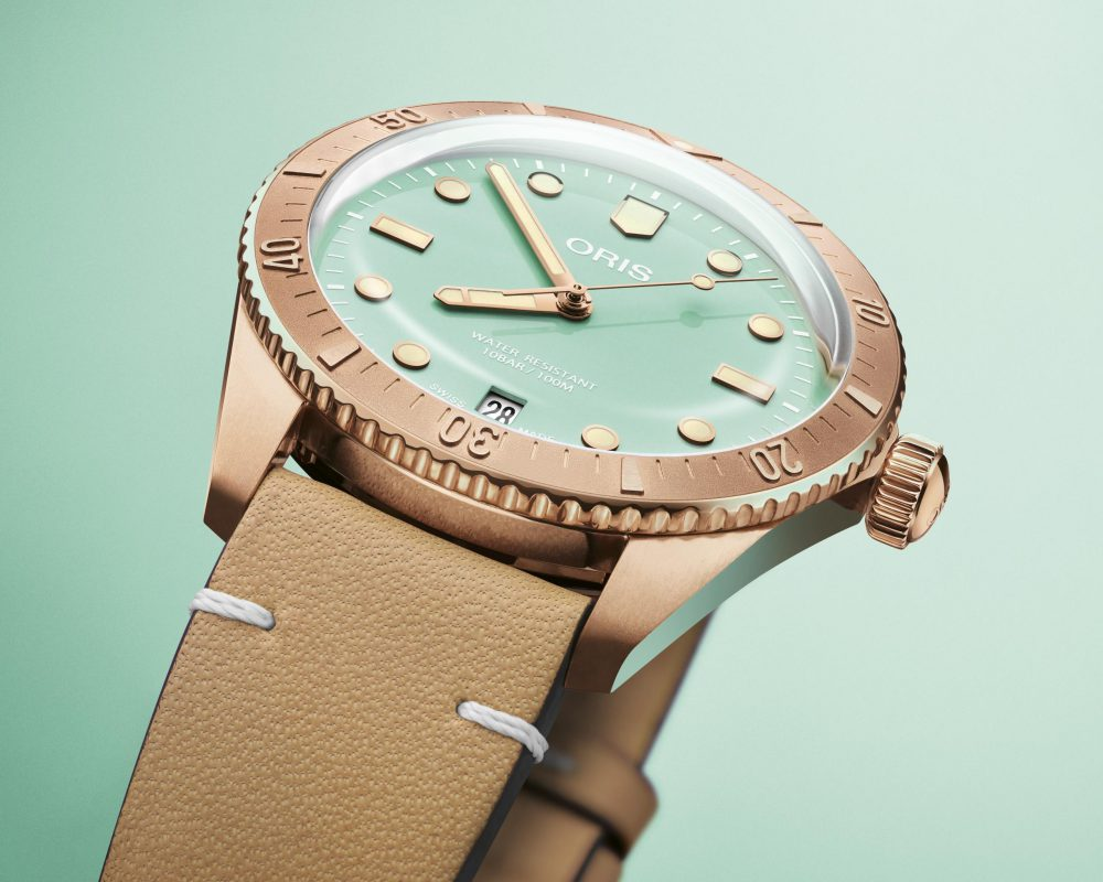 watches wonders 2021 green is the new watch trend oris divers sixty five cotton candy - Watches & Wonders 2021|年度表坛流行色