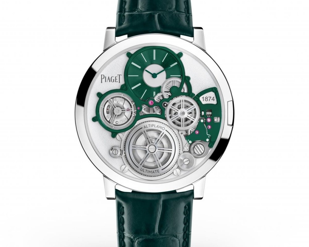 watches wonders 2021 green is the new watch trend piaget altiplano ultimate concept green - Watches & Wonders 2021|年度表坛流行色