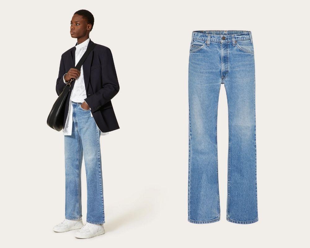Untitled design 34 - Valentino x Levi's 联名牛仔裤 重现60年代经典剪裁