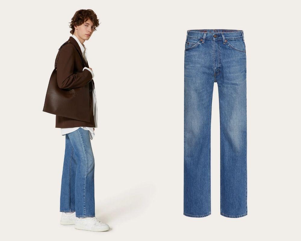 Untitled design 35 - Valentino x Levi's 联名牛仔裤 重现60年代经典剪裁