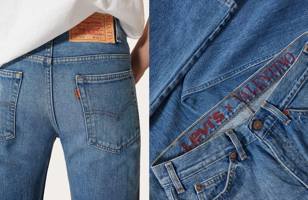 Untitled design 39 - Valentino x Levi's 联名牛仔裤 重现60年代经典剪裁