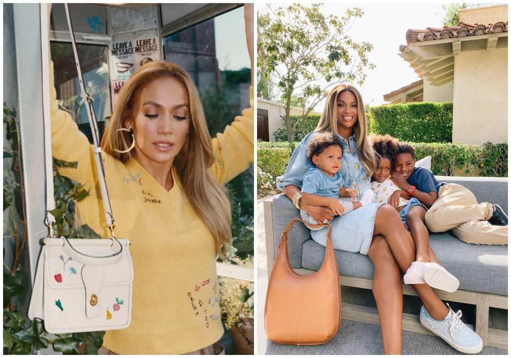 coach mothers day campaign gifting to mom jenniferlopez ciara 1 - Coach 为你包办母亲节仪式感,表达最真挚的心意!