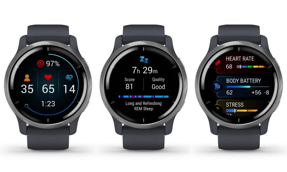 garmin malaysia venu 2 series smartwatch 004 - 健康生活方式的得力助手!Garmin Venu 2 升级版智能腕表系列
