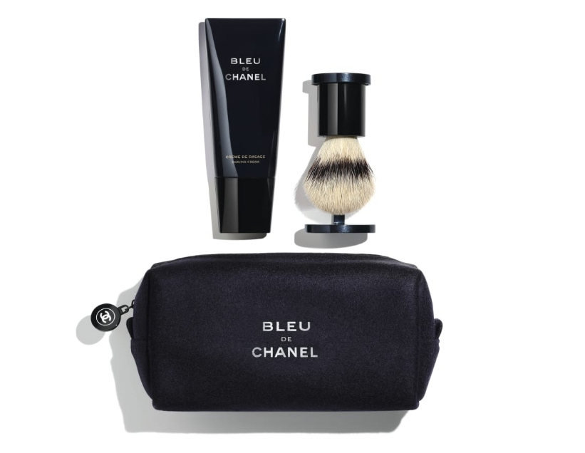mens shaving essentials kit bleu de chanel shaving kit 1 - 父情节送什么?帮你备一份最全礼物清单