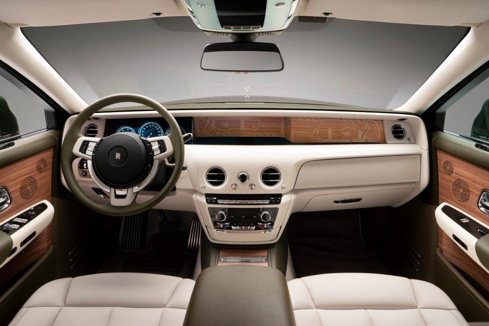 rolls royce x hermes bespoke phantom oribe japanese 005 - 绝了!Rolls-Royce x Hermès 联手打造日本富豪的高级定制车款