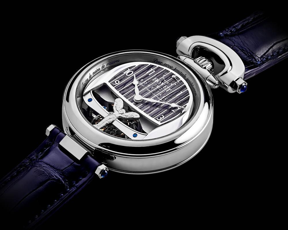 bovet 1822 rolls royce collaboration boattail timepieces 001 - 3000小时的倾心之作!BOVET 与劳斯莱斯开启订制新境界