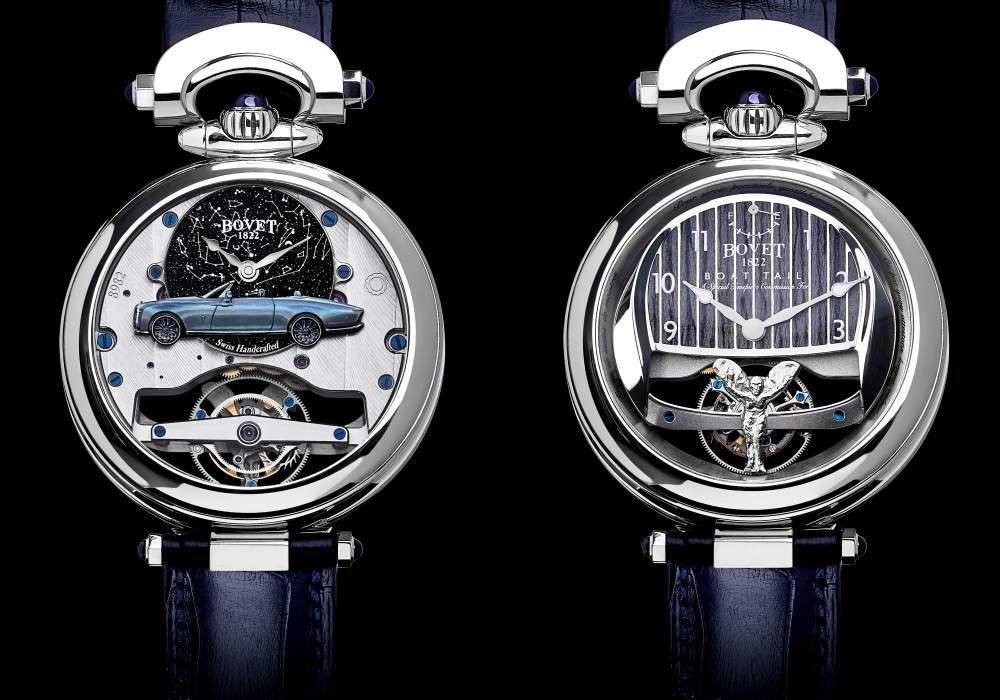 bovet 1822 rolls royce collaboration boattail timepieces 002 - 3000小时的倾心之作!BOVET 与劳斯莱斯开启订制新境界