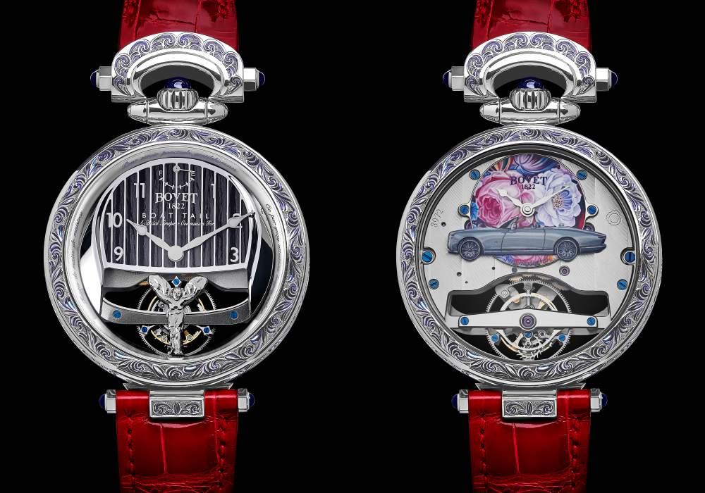 bovet 1822 rolls royce collaboration boattail timepieces 003 - 3000小时的倾心之作!BOVET 与劳斯莱斯开启订制新境界