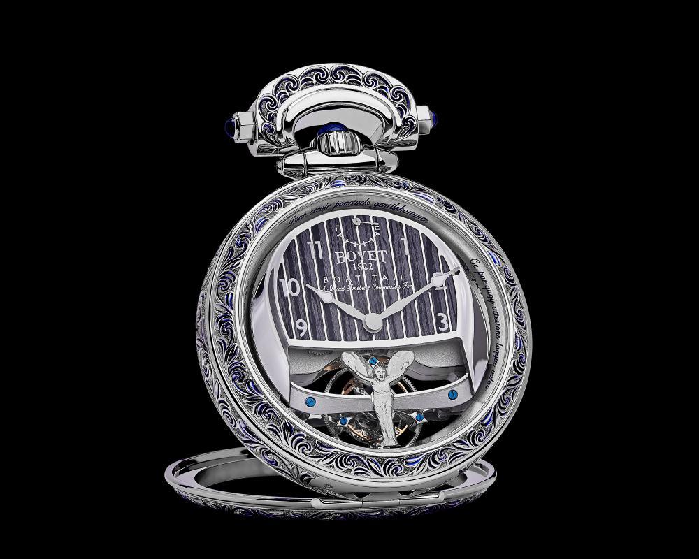 bovet 1822 rolls royce collaboration boattail timepieces 005 - 3000小时的倾心之作!BOVET 与劳斯莱斯开启订制新境界