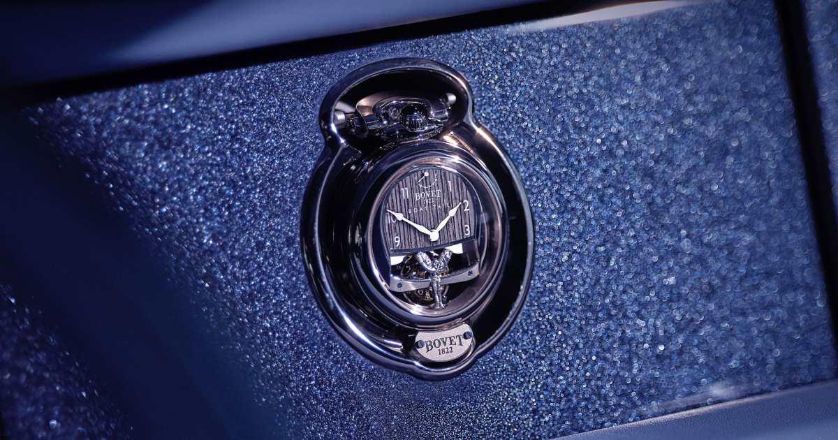 bovet 1822 rolls royce collaboration boattail timepieces - 3000小时的倾心之作!BOVET 与劳斯莱斯开启订制新境界