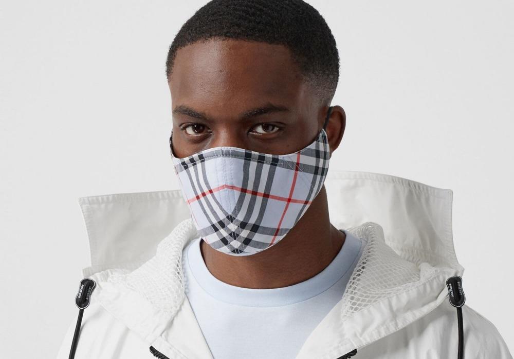 mens fashion accesories face mask burberry - 口罩戴出时尚感