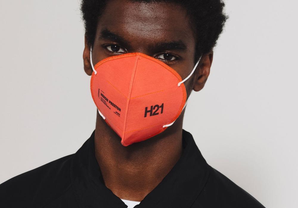 mens fashion accesories face mask heron preston - 口罩戴出时尚感