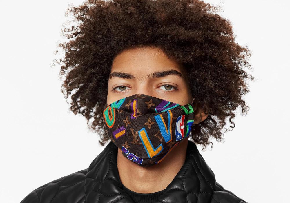 mens fashion accesories face mask lvxnba ii 1 - 口罩戴出时尚感
