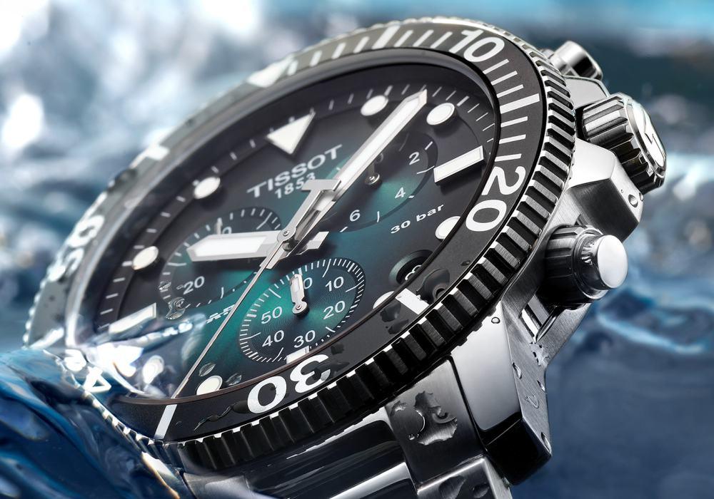 watch review tissot seastar 1000 quartz chrono 001 - 编辑试戴|超高性价比的 Tissot Seastar 1000 石英计时码表