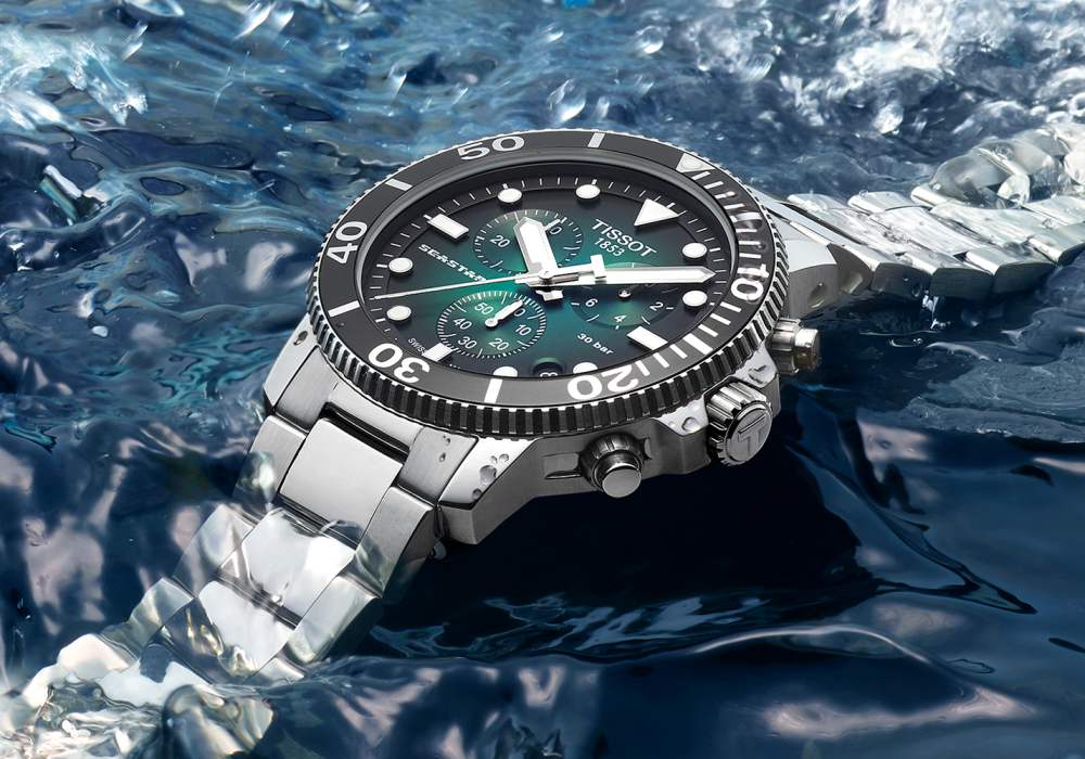 watch review tissot seastar 1000 quartz chrono 002 - 编辑试戴|超高性价比的 Tissot Seastar 1000 石英计时码表