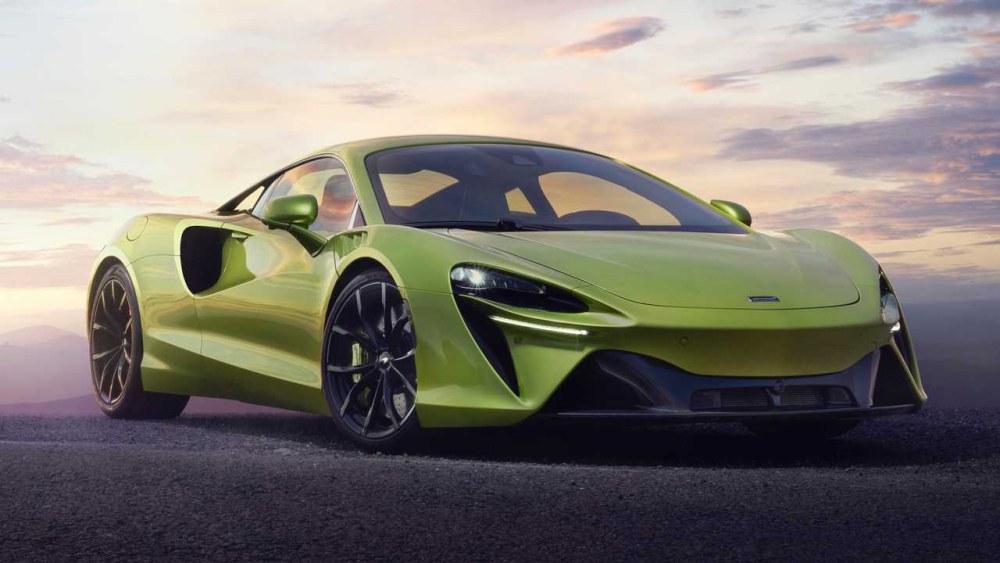 2021 hybrid supercars mclaren artura 001 - 3 辆混合动力超跑推荐!