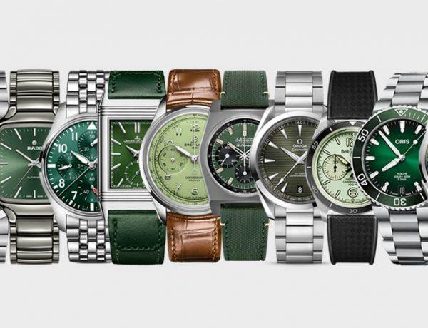 best green dial watches for every budget 600x460 - 新手、资深玩家皆可入手!各预算内值得一看的 12款绿面腕表