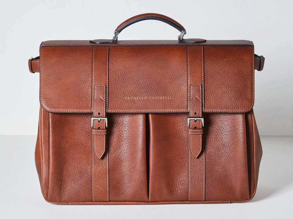 ks select best business briefcase brunellocucinelli calfskin - K's Select|实用有型!10款精品公事包推荐