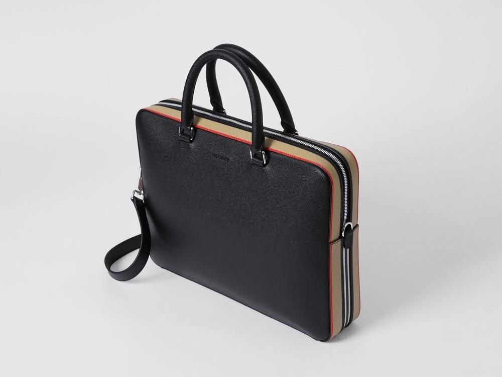 ks select best business briefcase burberry icon stripes - K's Select|实用有型!10款精品公事包推荐