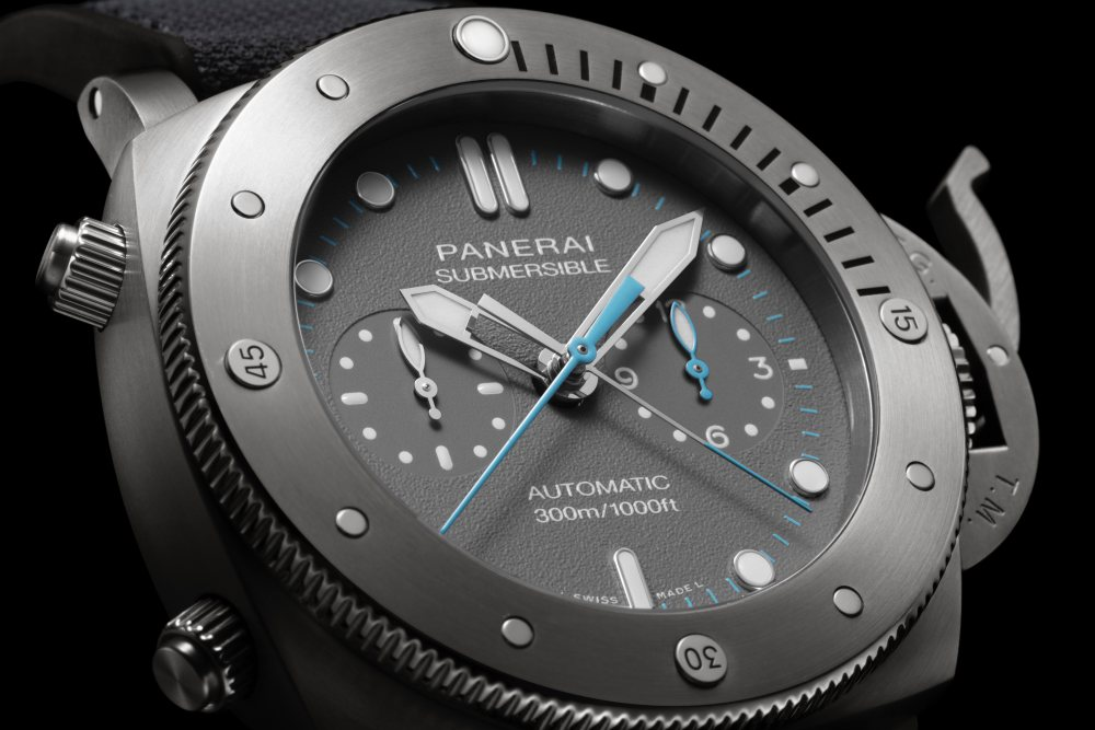 panerai jimmy chin submersible chrono flyback jchin 001 - Panerai 推出两款品牌大使 Jimmy Chin 限量版腕表