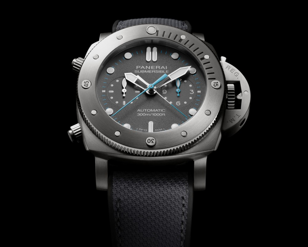 panerai jimmy chin submersible chrono flyback jchin 002 - Panerai 推出两款品牌大使 Jimmy Chin 限量版腕表
