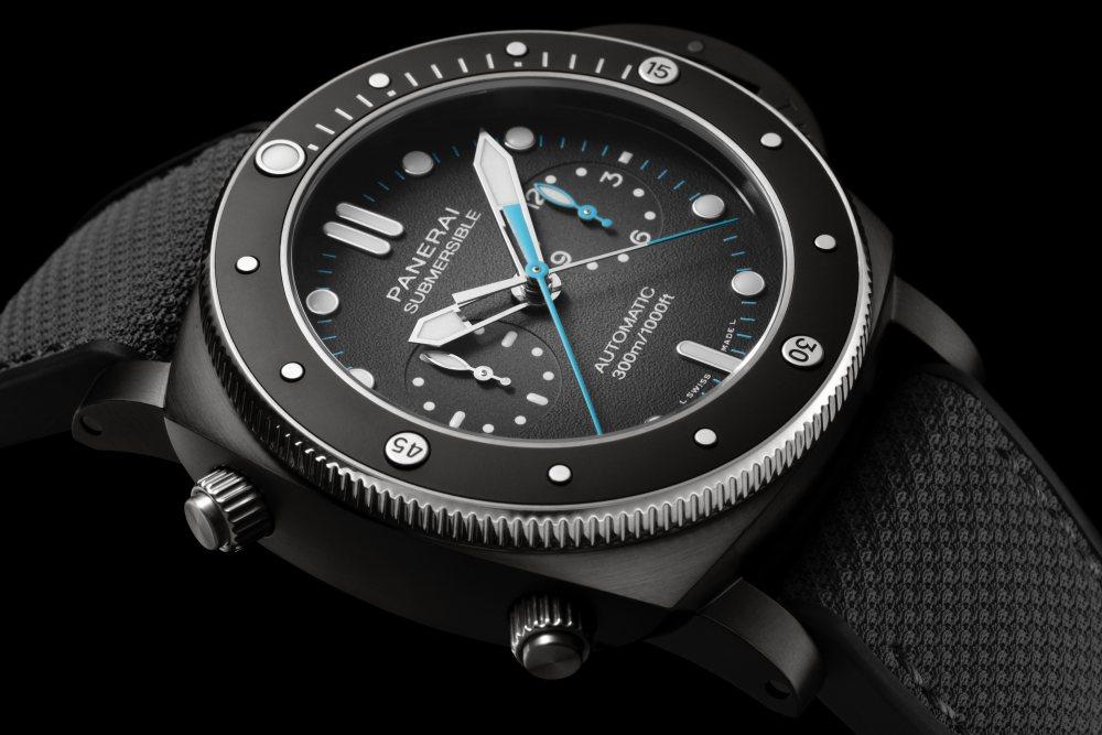 panerai jimmy chin submersible chrono flyback jchin xperience 001 - Panerai 推出两款品牌大使 Jimmy Chin 限量版腕表