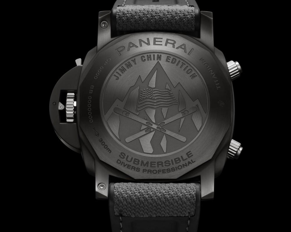 panerai jimmy chin submersible chrono flyback jchin xperience 002 - Panerai 推出两款品牌大使 Jimmy Chin 限量版腕表