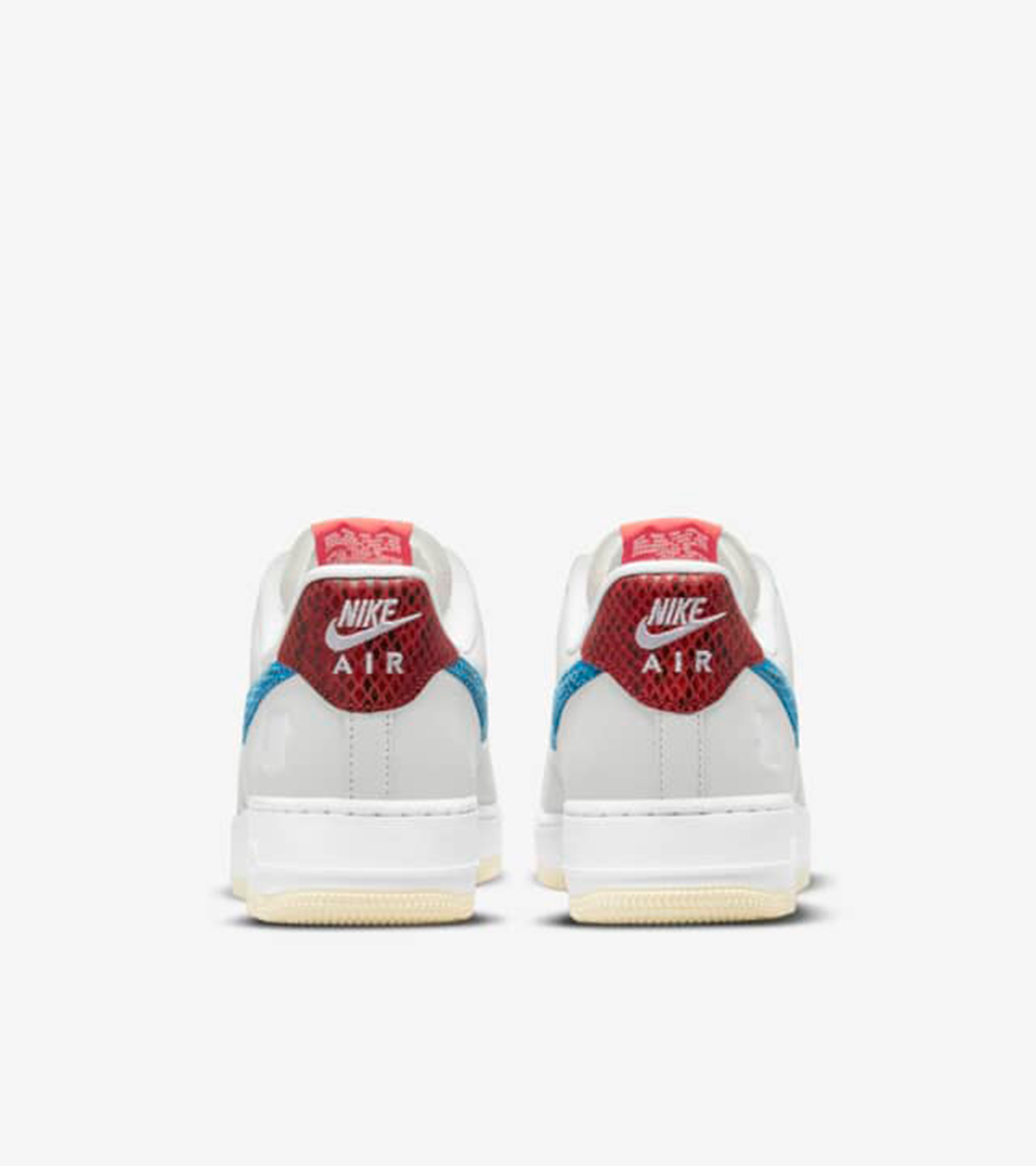 air force back of the shoe - UNDEFEATED x Nike 最新发布5 ON IT男子运动鞋联名系列