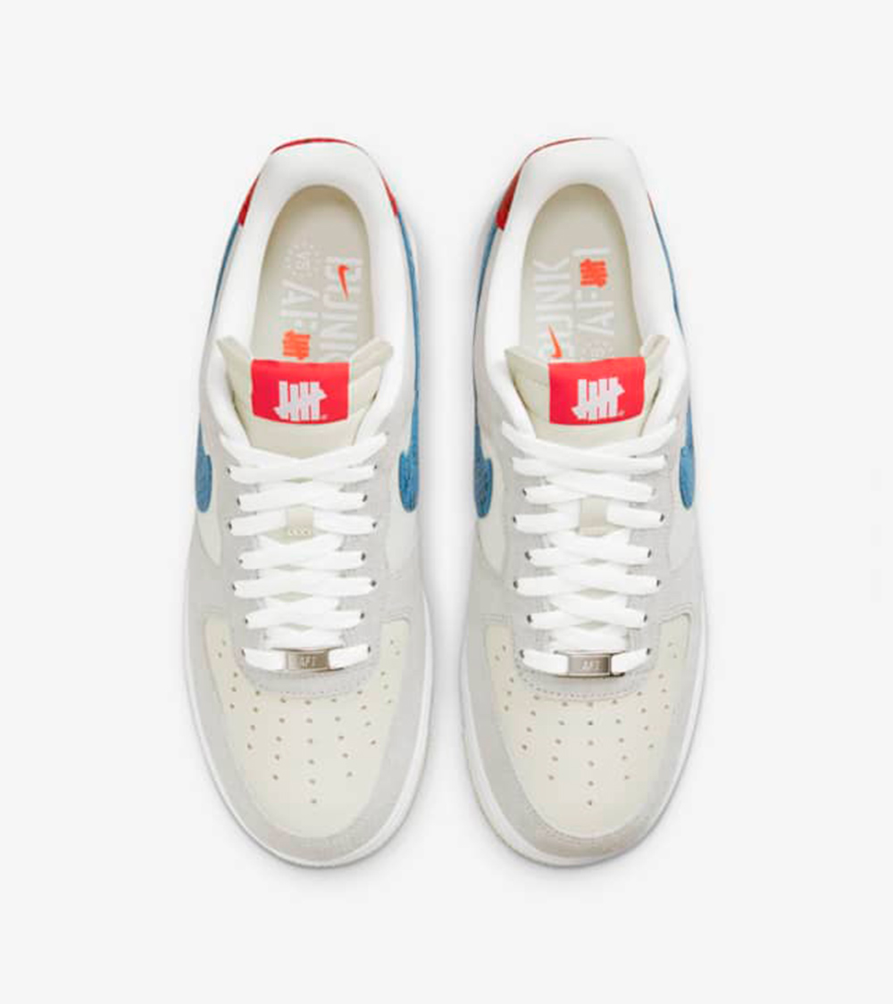 air force top of the shoe - UNDEFEATED x Nike 最新发布5 ON IT男子运动鞋联名系列