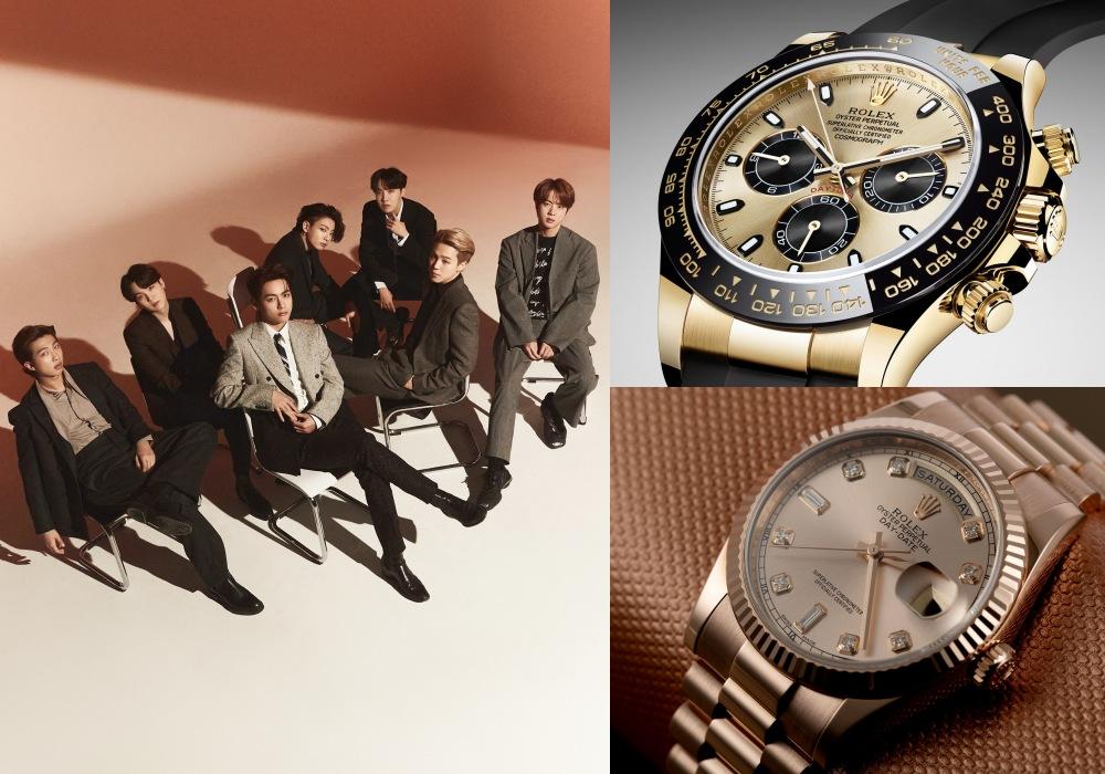 bts watches collection 1 - 男团BTS成员都爱哪些高级名表?