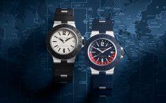 bvlgari alvminivm gmt pair 240x150 - Bvlgari Aluminium GMT 腕表,点缀你悠闲的旅程