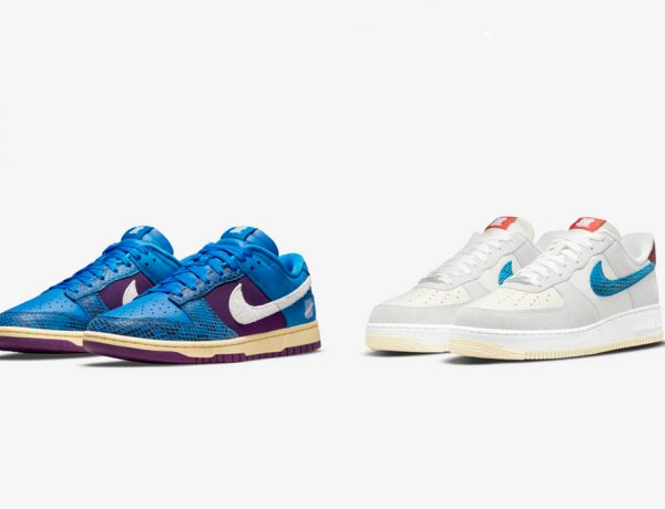 dunk low and air force 600x460 - UNDEFEATED x Nike 最新发布5 ON IT男子运动鞋联名系列