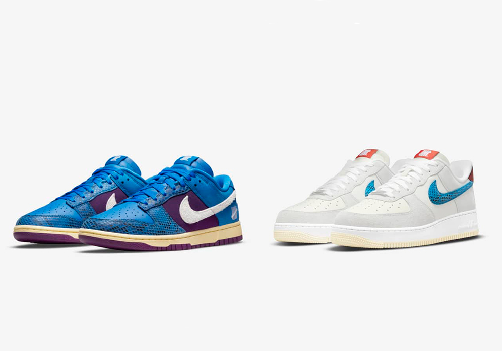 dunk low and air force - UNDEFEATED x Nike 最新发布5 ON IT男子运动鞋联名系列