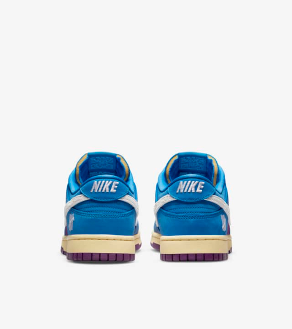 dunk low back of the shoe - UNDEFEATED x Nike 最新发布5 ON IT男子运动鞋联名系列