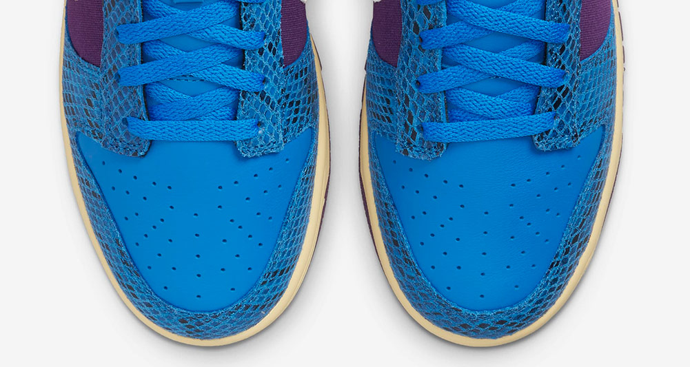 dunk low front of the shoe - UNDEFEATED x Nike 最新发布5 ON IT男子运动鞋联名系列