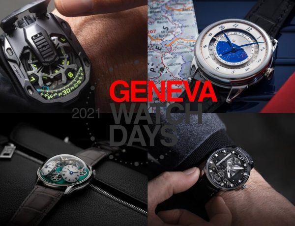 "geneva watch days 2021 600x460 - Geneva Watch Days 2021 今天开跑!以""实体数位化""模式举行"
