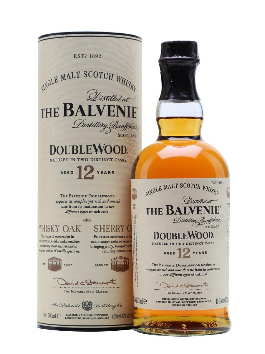 Balvenie 12 Year Old DoubleWoo - 威士忌入门:什么是单一麦芽威士忌?