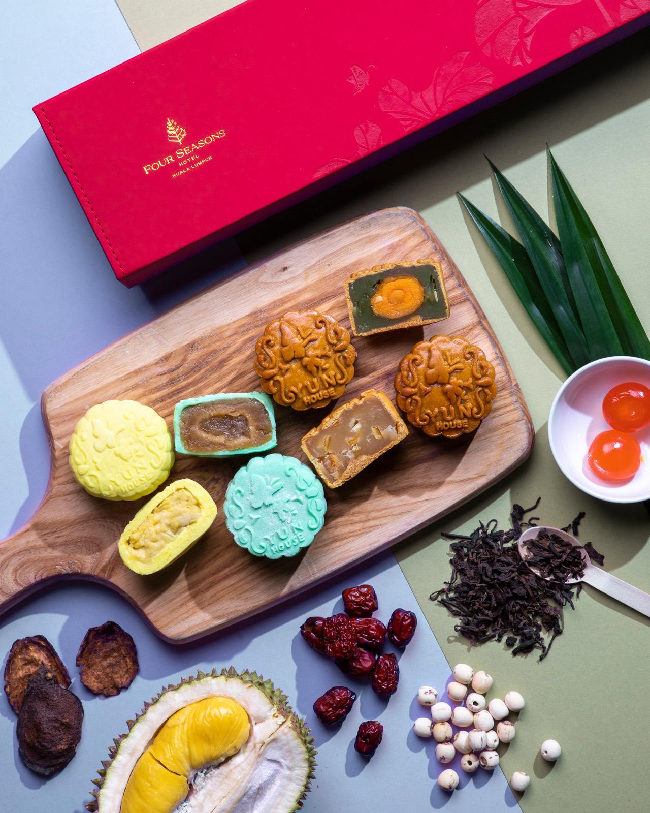 Four Seasons Hotel KL mooncake 2021 - 12款最适合商务送礼的高级月饼礼盒