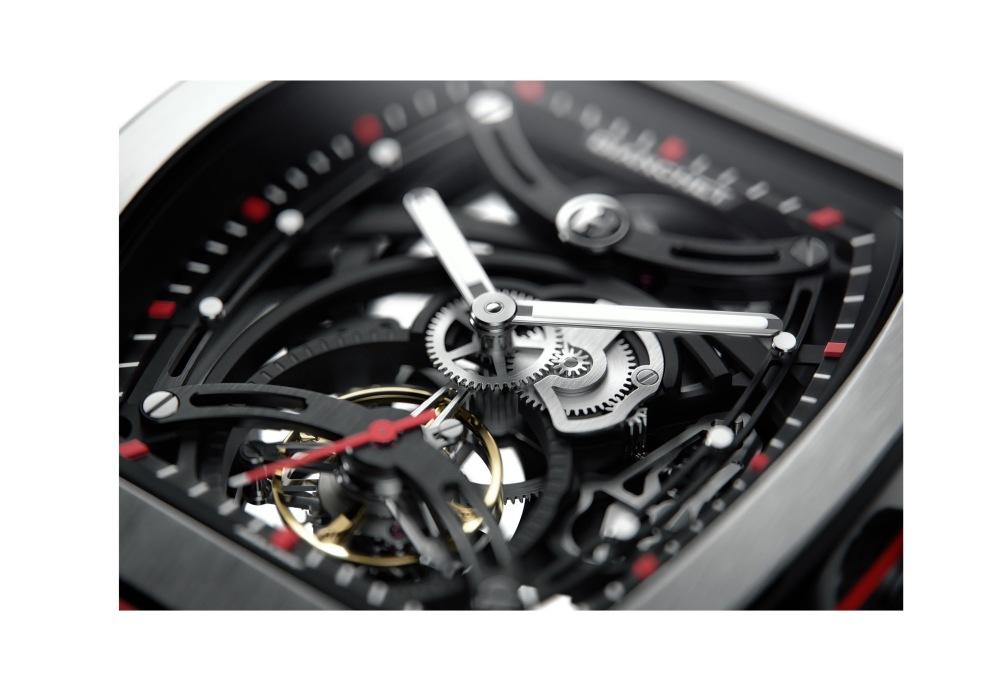 b1.618 skeleton tourbillon close up dial 1 - 一览 Geneva Watch Days 2021 最受瞩目的6款腕表