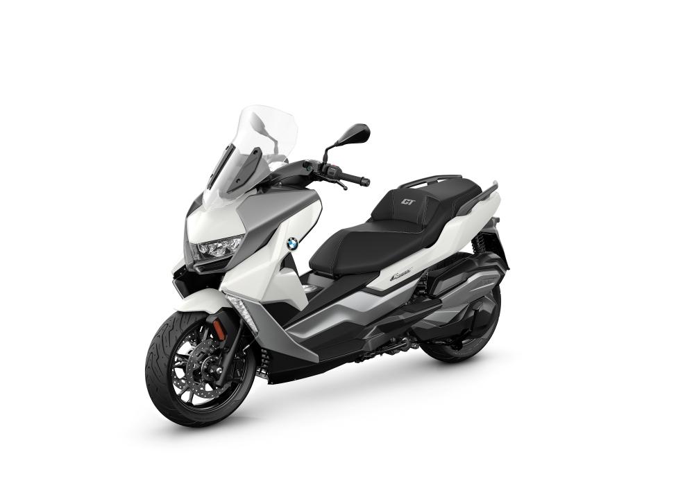 bmw c 400 gt lightwhite - BMW Motorrad 推出6款摩哆车,让你轻松又安全地在路上驰骋