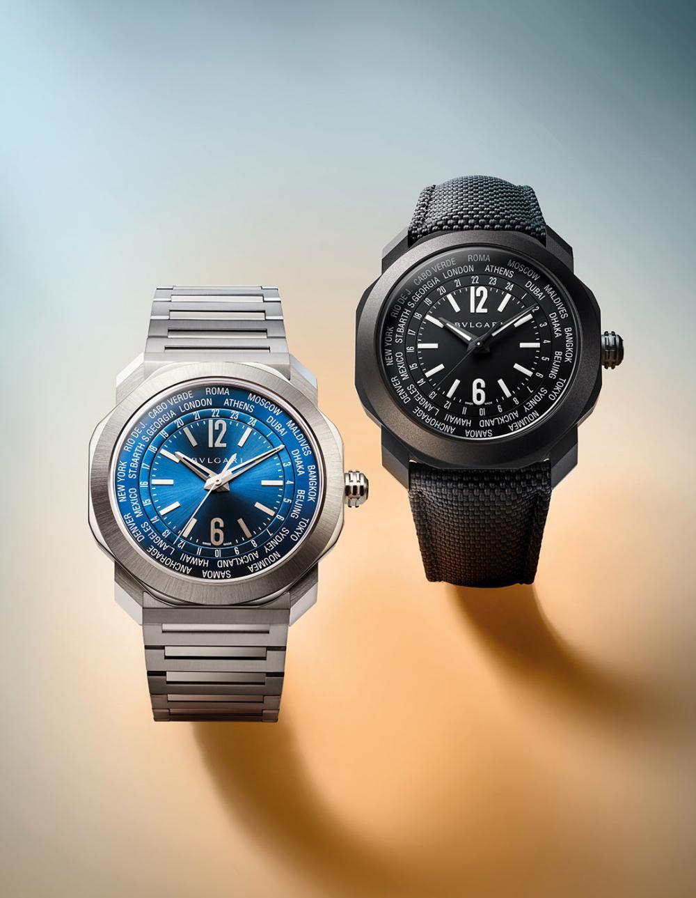 bvlgari octo roma worldtimer pair - 一览 Geneva Watch Days 2021 最受瞩目的6款腕表