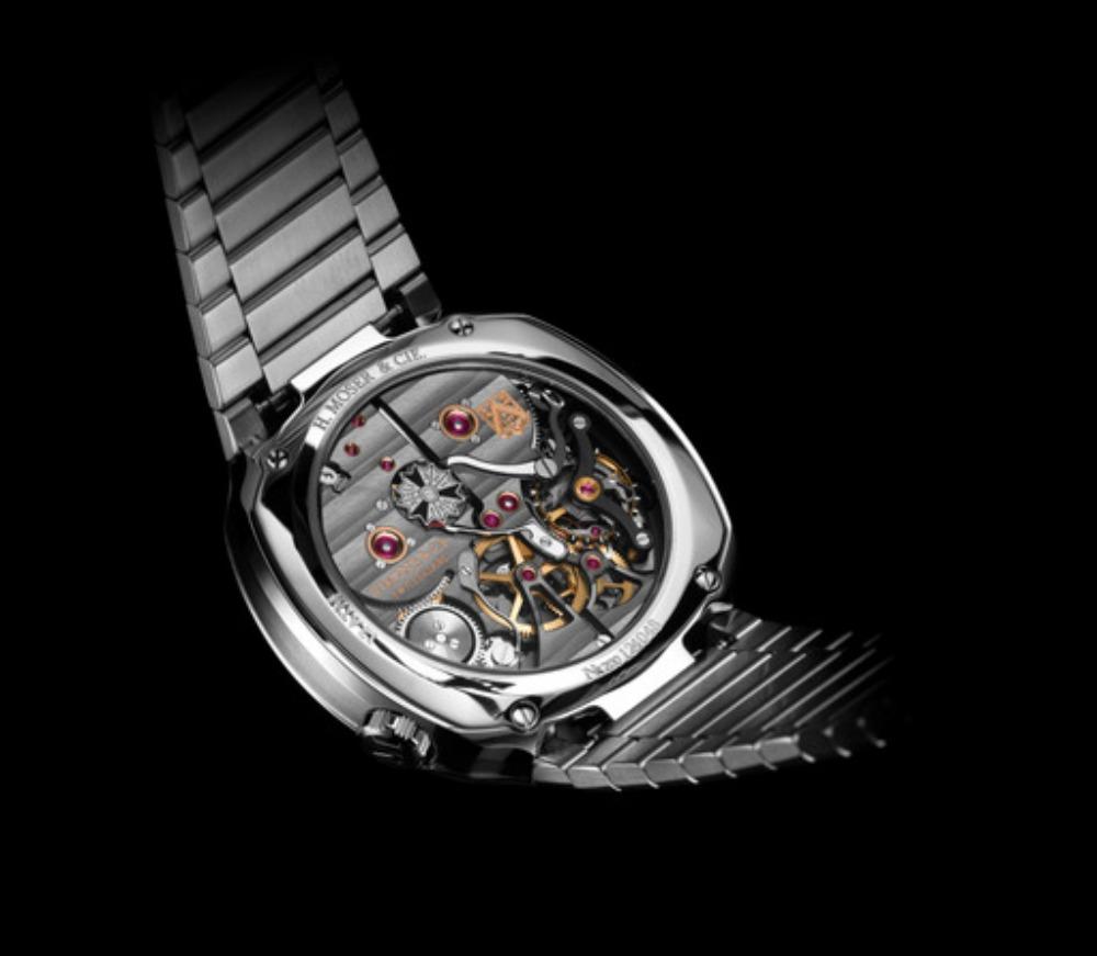 h.moser cie hmc 812 back - 一览 Geneva Watch Days 2021 最受瞩目的6款腕表